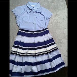 New York & Company Blouse/Skirt